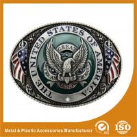 Buy cheap Engravable Black Silver Western Custom Belt Buckle For Belt Accessories from Wholesalers