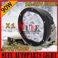 Wholesale 7 INCH 10W/ 90W CREE LED Driving Light Off Road tractor JEEP Truck work light spot flood from china suppliers