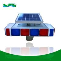China Battery powered solar traffic warning lights controller systems led flashing light on sale