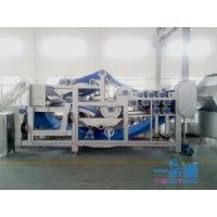 China Belt Industrial Apple Juicer / Carrot Belt Juice Extractor Machine With CIP Cleaning System on sale