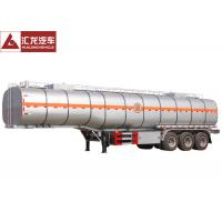 Wholesale Thermal Insulation Chemical Tank Trailer  Fiber Glass Simple Structure Easy Maintenance from china suppliers