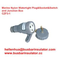 3 pin junction box CZF2-3 waterproof marine socket and switch