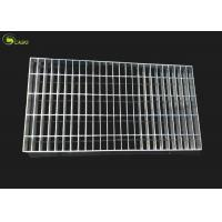 Wholesale Steel Cover Mesh Hot Dip Galvanized Bar Grating Floor Ginged Grate Plain Grid from china suppliers
