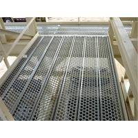 Wholesale Galvanised Steel Perf O Grip Plank Grating , Perforated Metal Screen Anti Slip from china suppliers