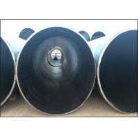 China ASTM A252 API 5L Grade B LSAW Steel Pipe For Large Diameter Drainage Pipe on sale