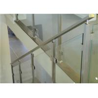 Wholesale balustrade posts stainless steel tempered glass railing Balustrade Post Tempered Glass Railing from china suppliers