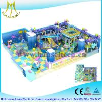 China Hansel china factory price kids indoor climbing play equipment soft play center on sale