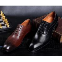 Buy cheap Fashion Men Formal Dress Shoes , Brogue Hidden High Heel Leather Footwear For from wholesalers