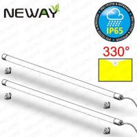 Wholesale 20W 4FT 1550-2050LM IP65 Waterproof LED T8 Fluorescent Tube Dia. 40MM Linear LED Ceiling Tube Light Daylight White 4000K from china suppliers