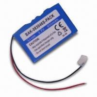 China 3.7V 900mAh Li-ion Rechargeable Battery for POS Terminal on sale