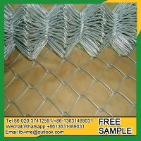 Buy cheap HollySprings Galvanized woven wire diamond mesh fence made in good machine from wholesalers