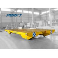 Buy cheap material shifting steel plant battery operated transfer trolley run on rails from wholesalers