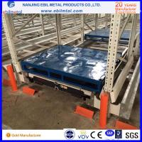 Radio Shuttle Rack with High Quality Pallet Runner CE standard FIFO or FILO; various temperature, color customized