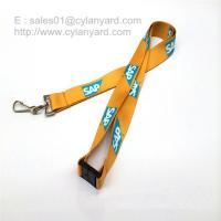 Wholesale Safety breakaway neck lanyard with sublimated full color print from china suppliers