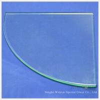 Wholesale Tempered/Toughened Glass for 1/4 Circle from china suppliers
