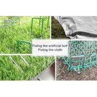 "Wholesale U-PIN , FIX ARTIFICIAL GRASS OR GROUND CLOTH FABRIC 6"" 11GAUGE STEEL U SHAPED GARDEN SECURING PEGS LANDSCAPE SOD STAPLES from china suppliers"