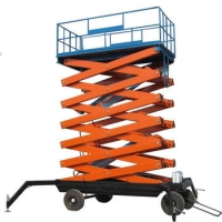 Wholesale Mechanical Hydraulic 6000mm Scissor Lift Platform from china suppliers