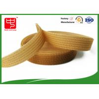 Buy cheap Silk printing strong velcro straps for cable ties , One side fabric hook and loop fasteners from Wholesalers