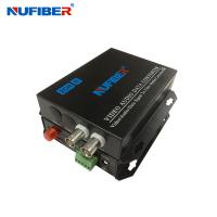 Wholesale 2BNC RS485 Fiber Video Converter from china suppliers