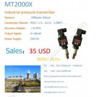 Buy cheap Industrial pressure transmitter pressure transmitter  	Explosion Proof Pressure Transmitter from Wholesalers