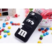 Wholesale M Chocolate Cartoon Iphone 6 Plus Silicone Case In Sky Blue / Purple / Yellow / Orange from china suppliers