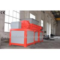 Wholesale 2 Shaft Plastic Waste Shredder Low Energy Consumption For Drainage Pipes from china suppliers
