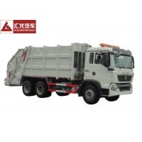 Wholesale 6x4 Garbage Compactor Truck Right Hand Drive 12CBM With Air Conditioner from china suppliers