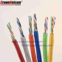 China Cat6 Cable 23AWG Twisted 305M Bulk UTP Category 6 Network Cable With Pullbox Fluke-Pass on sale