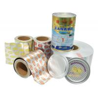 Wholesale lacquer aluminium foil for peel off ends (8011  90mic  one side heat seal ) from china suppliers