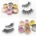 Wholesale Wholesale Real Mink Eyelashes Custom Luxury Eyelash Packaging Box 3D Mink Eyelashes Vendor from china suppliers