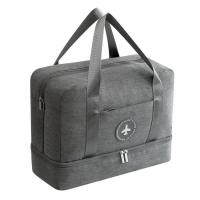 Wholesale Waterproof Double Layer Duffle Travel Luggage Bag from china suppliers