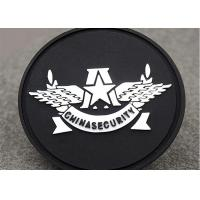 Wholesale Sew On Badges Type Custom Clothing Patches Pvc Label Round Shape from china suppliers