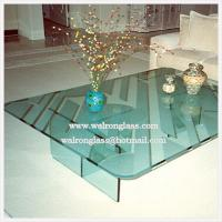 Wholesale Modern Glass Table Top Dining Table from china suppliers