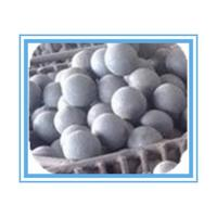 HRC 55-65 Forged Grinding Media Balls For Mining , High hardness