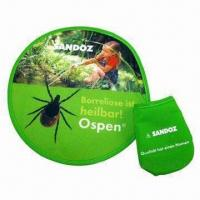 Wholesale Foldable Flying Disc, Made of Nylon from china suppliers