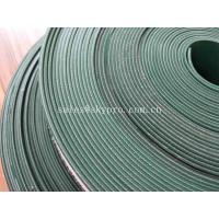 Wholesale Food Grade PVC Cleat 4mm Flat Rubber Conveyor Belting Durable Straight Grain from china suppliers