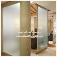 Wholesale China clear, Frosted, frameless, fixed, movable, room, office Glass Partition from china suppliers