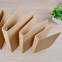 Wholesale Craft paper file folder with ring binded A6,A5,A4 size available from china suppliers