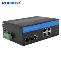 Wholesale 4 Utp 2 Sfp Managed Industrial Switch from china suppliers