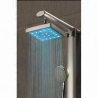 Wholesale LED Showerhead, Temperature Detectable, No Battery Needed, CE Certified from china suppliers