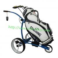 Wholesale G5R remote control golf trolley made of aluminium, lithium battery tubular motors unseen controller from china suppliers