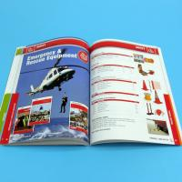 Paper / Paperboard Perfect Binding Catalogue Printing Service Customized A4 / A3