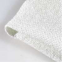 Wholesale 2626 Texturized 1/3 Twill Weave Fiberglass Cloth , Fire Resistant Material Fabric from china suppliers
