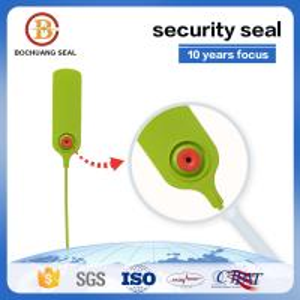 China Tamper Proof Plastic Seal SmoothLock PP,PE,Metal insert lock with Laser Printed  Hot Stamping  Logo on sale