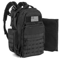 China Adventure Tactical Diaper Bag Backpack with Changing Pad for Men and Woman on sale