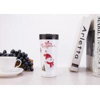 Class Room / Office Hot And Cold Plastic Travel Mugs With Food Grade PP Material