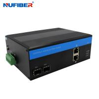 Wholesale NuFiber 2 Poe 2 Sfp Port Switch Managed Industrial Poe Switch from china suppliers
