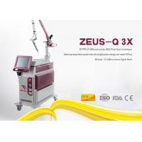 Wholesale 10Hz Frequency Laser Tattoo Removal Machine Q Switched Nd Yag Picosecond Pigment Treatment from china suppliers