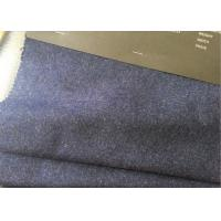 Buy cheap 60wl3p10other navy heather  Color plain Melton Wool Fabric for all people from Wholesalers