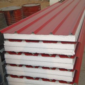 China eps sandwich panel roof panel on sale